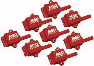 MSD - GM MSD Ignition Coil Kit - 8 Pack - 82468