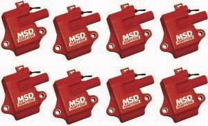 MSD - GM MSD Ignition Kit - Coil - 8 Pack - 82478