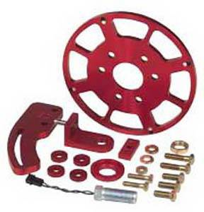 MSD - Chevrolet MSD Ignition Crank Trigger Kit - 8 Inch CT Wheel - 8615