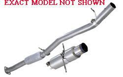 JIC - JIC Exhaust System Z33D1S-TI