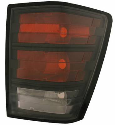 In Pro Carwear - Jeep Grand Cherokee IPCW Taillights - LED - 1 Pair - CWT-CE5005CB