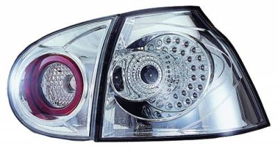 In Pro Carwear - Volkswagen Golf GTI IPCW Taillights - LED - 1 Pair - LEDT-1503C2