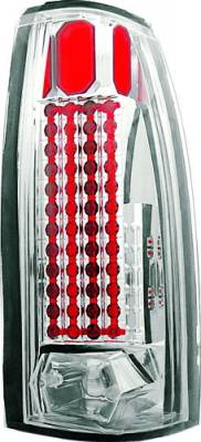 In Pro Carwear - GMC Yukon IPCW Taillights - 44 LEDs - 1 Pair - LEDT-303