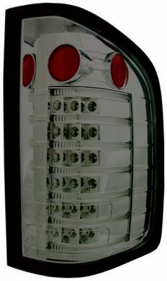 In Pro Carwear - Chevrolet Silverado In Pro Carwear LED Fiber Optic Taillights - LEDT-3042CS