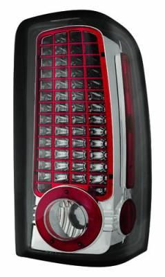 In Pro Carwear - Chevrolet Suburban IPCW Taillights - LED - 1 Pair - LEDT-304CS