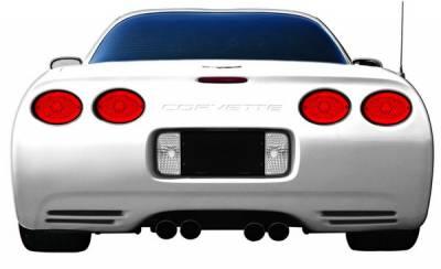 In Pro Carwear - Chevrolet Corvette IPCW Taillights - LED - LEDT-335