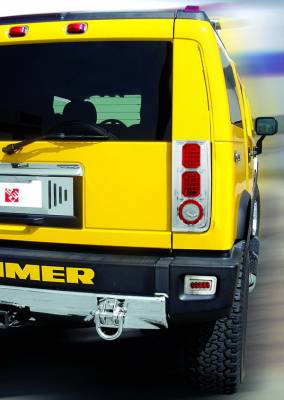In Pro Carwear - Hummer H2 IPCW Taillights - LED - 1 Pair - LEDT-343C