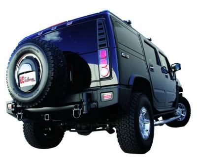 In Pro Carwear - Hummer H2 IPCW Taillights - LED - 1 Pair - LEDT-343CB