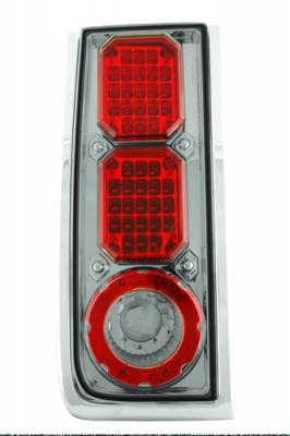 In Pro Carwear - Hummer H2 IPCW Taillights - LED - 1 Pair - LEDT-343CS