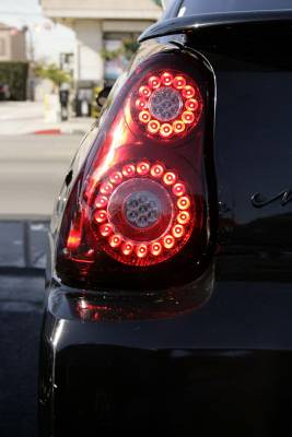 In Pro Carwear - Chevrolet Monte Carlo IPCW Taillights - LED - 1 Pair - LEDT-344CR