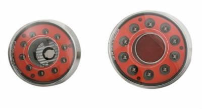 In Pro Carwear - Chevrolet Cobalt 2DR IPCW Taillights - LED - 4PC - LEDT-350CB