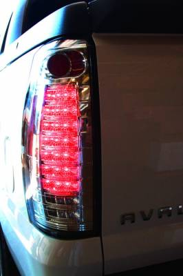 In Pro Carwear - Chevrolet Avalanche IPCW Taillights - Fiber Optic & LED - 1 Pair - LEDT-360C