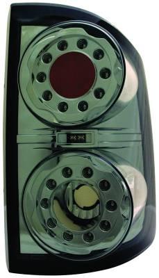 In Pro Carwear - Dodge Dakota IPCW Taillights - LED - 1 Pair - LEDT-404CS