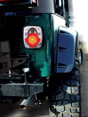 In Pro Carwear - Jeep Wrangler IPCW Taillights - LED - 1 Pair - LEDT-407C