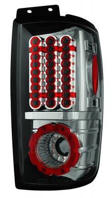 In Pro Carwear - Lincoln Navigator IPCW Taillights - LED - 1 Pair - LEDT-501ECS