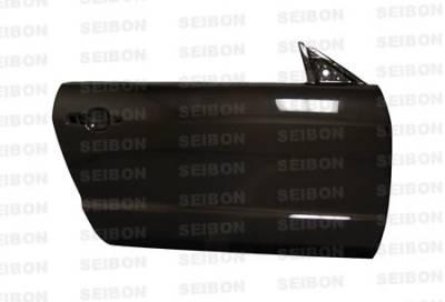 Seibon - Ford Mustang Seibon Carbon Fiber Door - DD0506FDMU