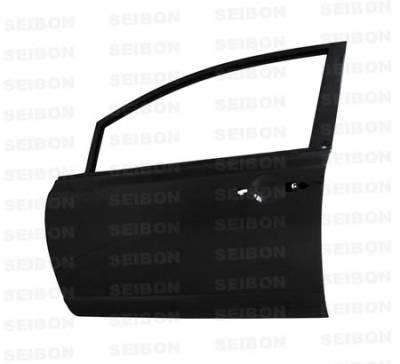Seibon - Honda Civic 4DR Seibon Carbon Fiber Door - Front - DD0607HDCV4D-F