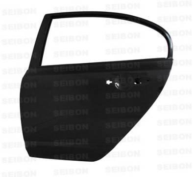 Seibon - Honda Civic 4DR Seibon Carbon Fiber Door - Rear - DD0607HDCV4D-R