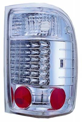In Pro Carwear - Ford Ranger IPCW Taillights - LED - 2 Holes - 1 Pair - LEDT-507C2