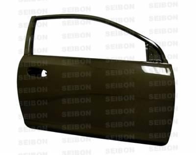 Seibon - Honda Civic 2DR Seibon Carbon Fiber Door - DD9295HDCV2D