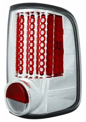 In Pro Carwear - Ford F250 IPCW Taillights - LED - Gen 1 - 1 Pair - LEDT-538C