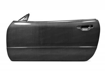 Seibon - Nissan Skyline Seibon Carbon Fiber Door - DD9901NSR34