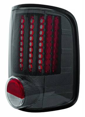 In Pro Carwear - Ford F250 IPCW Taillights - LED - Gen 1 - 1 Pair - LEDT-538CF