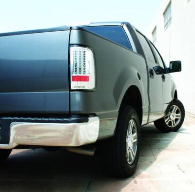 In Pro Carwear - Ford F250 IPCW Taillights - LED - Gen 2 with LED Reverse Light - 1 Pair - LEDT-560C