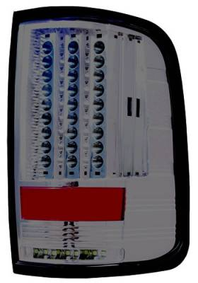 In Pro Carwear - Ford F250 IPCW Taillights - LED - Gen 2 with LED Reverse Light - 1 Pair - LEDT-560CS