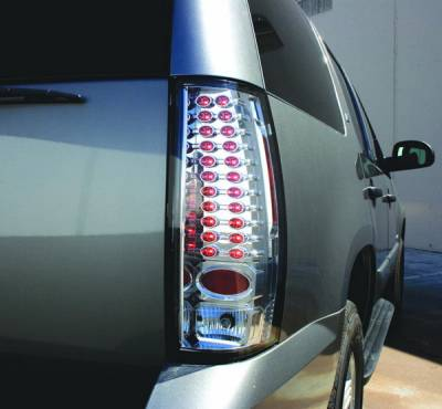 In Pro Carwear - GMC Yukon IPCW Taillights - LED - 1 Pair - LEDT-611C