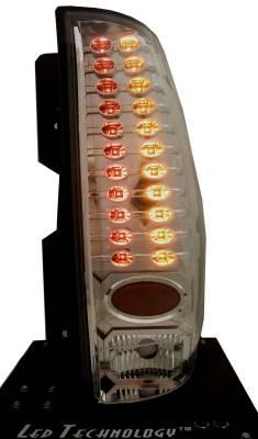 In Pro Carwear - GMC Yukon IPCW Taillights - LED - 1 Pair - LEDT-611SA