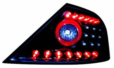 In Pro Carwear - Honda Civic 2DR IPCW Taillights - LED - 1 Pair - LEDT-746CB