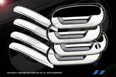 SES Trim - Ford F150 SES Trim ABS Chrome Door Handles - DH105