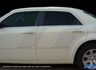 SES Trim - Chrysler Sebring 4DR SES Trim ABS Chrome Door Handles - DH111