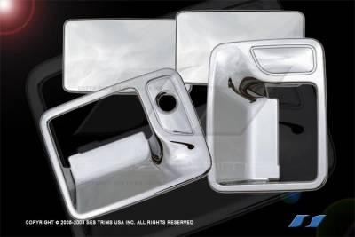 SES Trim - Ford F250 SES Trim ABS Chrome Door Handles - DH113-2