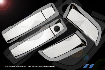 SES Trim - Nissan Armada SES Trim ABS Chrome Door Handles - DH115