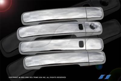 SES Trim - Nissan Altima SES Trim ABS Chrome Door Handles - with Smart Key - DH123