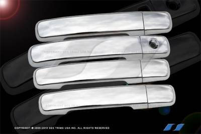 SES Trim - Nissan Sentra SES Trim ABS Chrome Door Handles - DH128