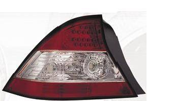Matrix - Red and Clear LED Taillights - MTX-09-4049-LR