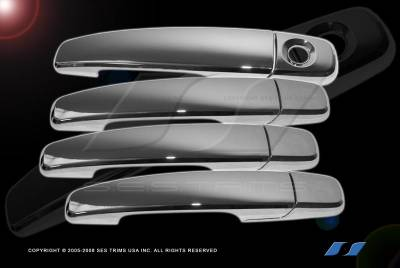 SES Trim - Ford Flex SES Trim ABS Chrome Door Handles - Model: DH147