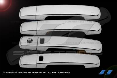 SES Trim - Toyota Camry SES Trim ABS Chrome Door Handles - with Smart Key - DH152-2K