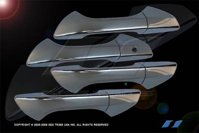 SES Trim - Honda Accord 4DR SES Trim ABS Chrome Door Handles - DH155-4