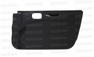 Seibon - Mitsubishi Evolution 8 Seibon Carbon Fiber Door Panels - DP0305MITEVO8-F