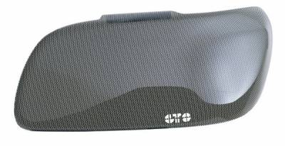 GT Styling - Dodge Challenger GT Styling Headlight Covers - Small - Carbon Fiber - GT0161X
