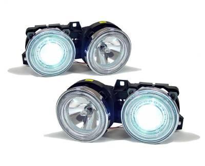 Euro - Xenon Chrome Headlights