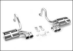 MagnaFlow - Magnaflow Cat-Back Exhaust System - Axle-Back Only - 15713