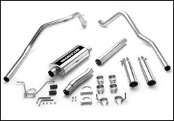 MagnaFlow - Magnaflow Cat-Back Exhaust System with Dual Split Rear Exit Pipes - 15736