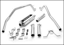 MagnaFlow - Magnaflow Cat-Back Exhaust System with Dual Split Rear Exit Pipes - 15738