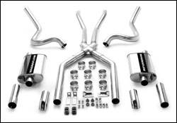 MagnaFlow - Magnaflow Cat-Back Exhaust System with 2.5 Inch Pipe - 15815