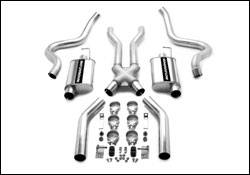 MagnaFlow - Magnaflow Cat-Back Exhaust System with 3.0 Inch Pipe - 15819